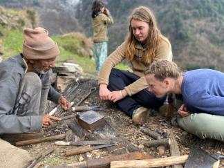 Inspecting the Blacksmith's Work